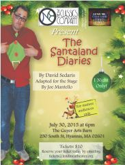 Santaland Poster8.5X